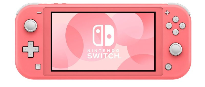 Switch lite rose corail