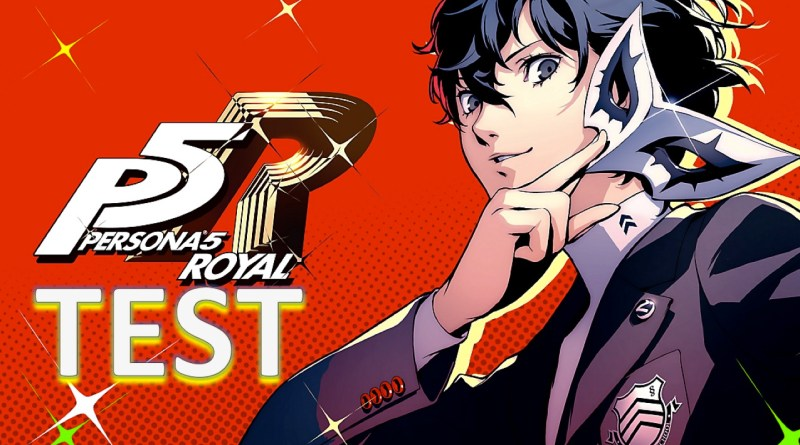 Test Persona 5 Royal - GOUAIG