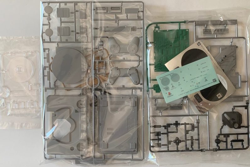 Montage Maquette PlayStation Bandai - 2