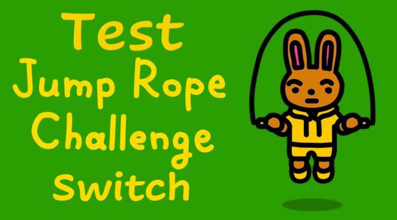 Test Jump Rope Challenge Switch