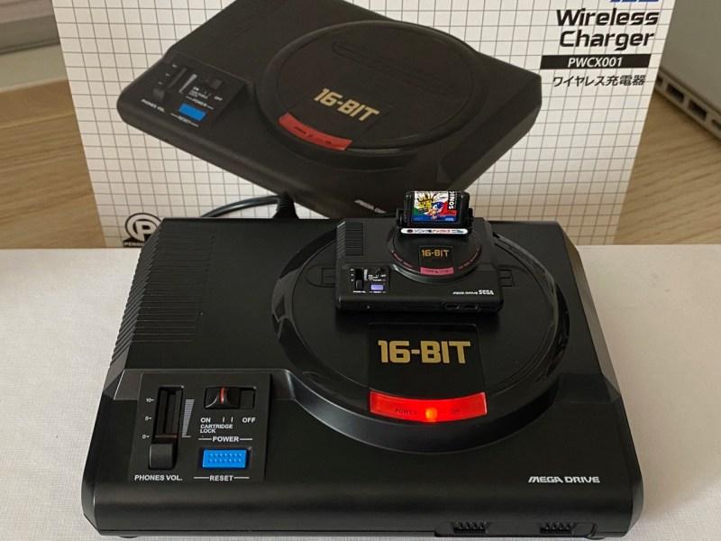 Chargeur sans fil SEGA Mega Drive