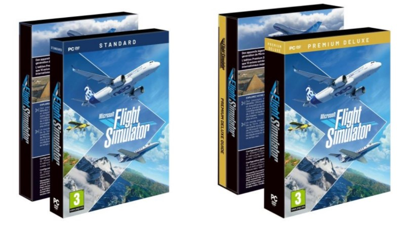 editions physiques flight simulator
