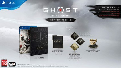 ghost of tsushima spéciale