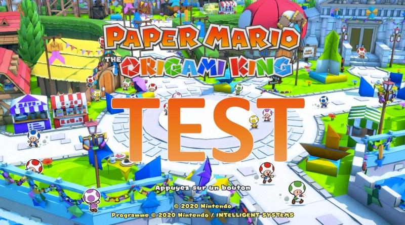 Test Paper Mario The Origami King Switch - GOUAIG