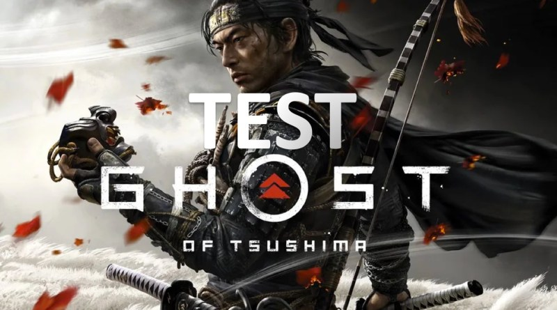 test ghost of tsushima PS4 pro