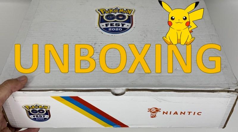 unboxing Pokémon Go Fest