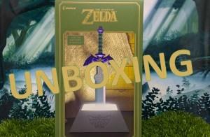 unboxing lampe zelda