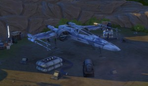 Test Les Sims 4 Star Wars Journey to Batuu