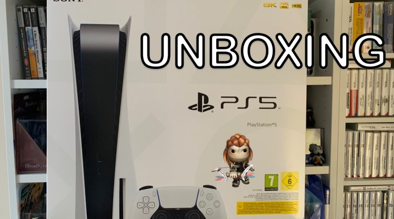 Unboxing PS5 ouverture Playstation 5 FR