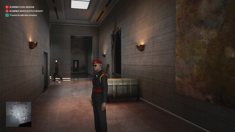 test hitman 3 PS5