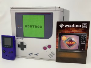 Unboxing Wootbox Retrogaming Février