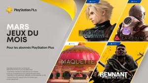 jeux PS Plus mars 2021