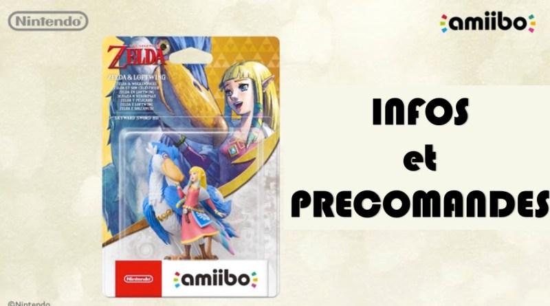 Amiibo Zelda Celestrier - gouaig