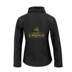 Softshell Jas Gouden Carolus Female Back