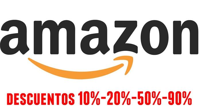 Descuentos y rebajas en Amazon España del 10% - 20% - 30% -50% - 90%