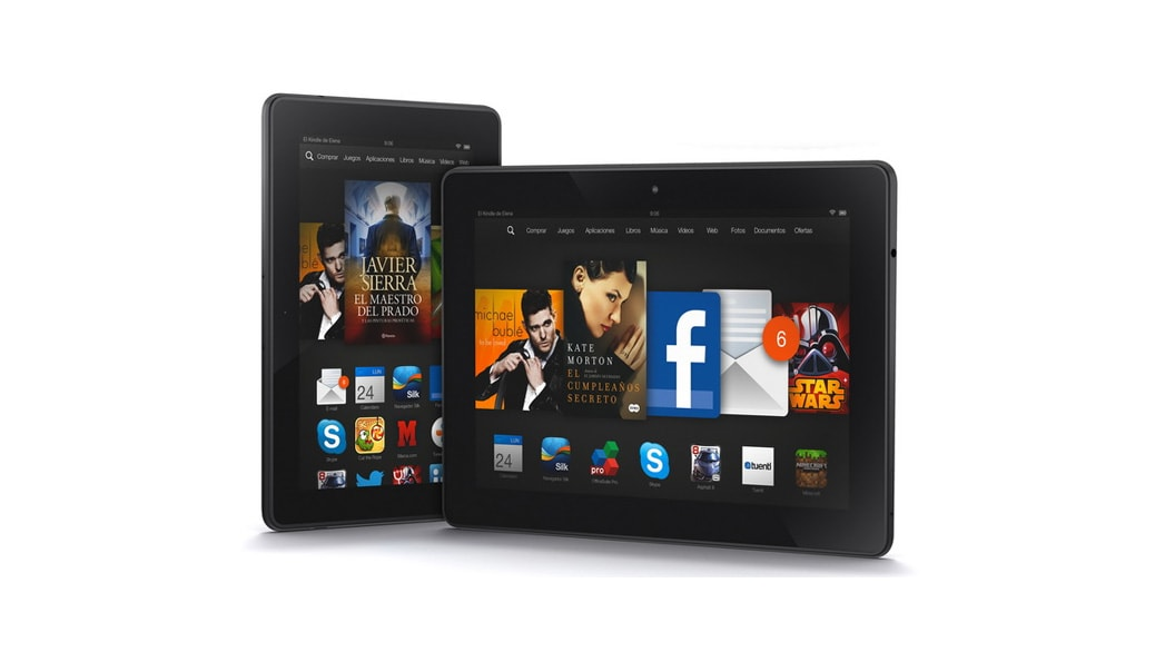 "Tablet Amazon Kindle Fire HDX 7"""