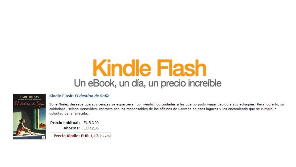 """Descuentos espectaculares en eBooks en """"Kindle Flash"""""""