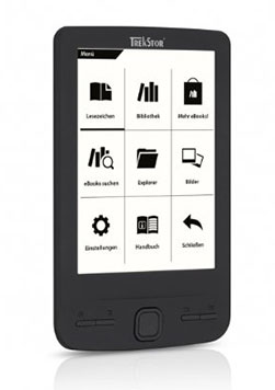 TrekStor Pyrus mini Black: eBook Reader 4.3""