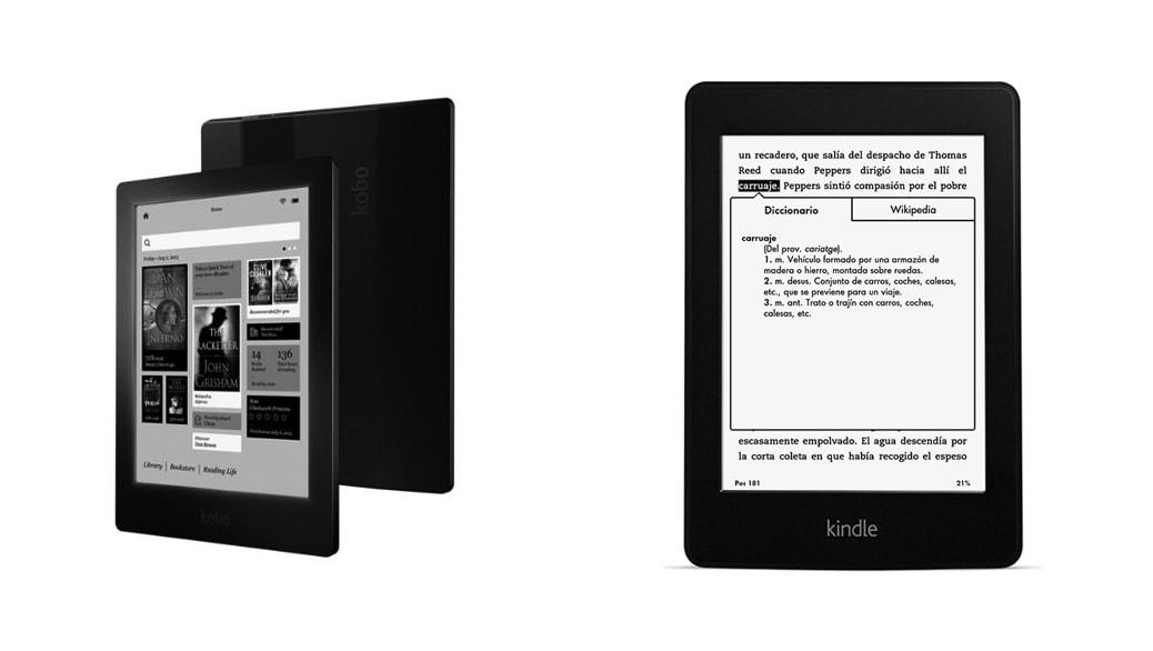 Kindle Vs Sony Reader: Kindle Paperwhite Vs Kobo AURA HD: Comparativa EReaders