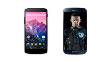 Google Nexus 5 vs Samsung Galaxy S4
