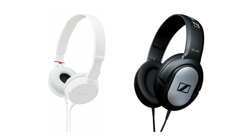 Auriculares Sony y Sennheiser de diadema