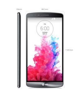 Dimensiones LG G3