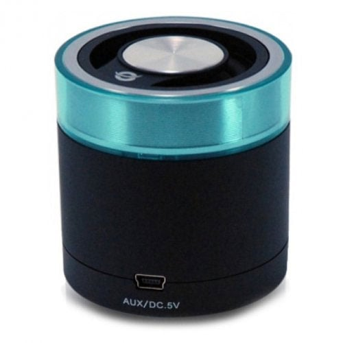Conceptronic Travel Stereo Speaker - Altavoces portátiles de 3W (Bluetooth, USB), Negro