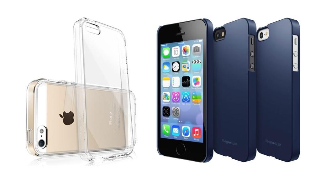 La mejor carcasa (funda) para tu iPhone 5S – iPhone 5: Ringke Fusion o Ringke SLIM