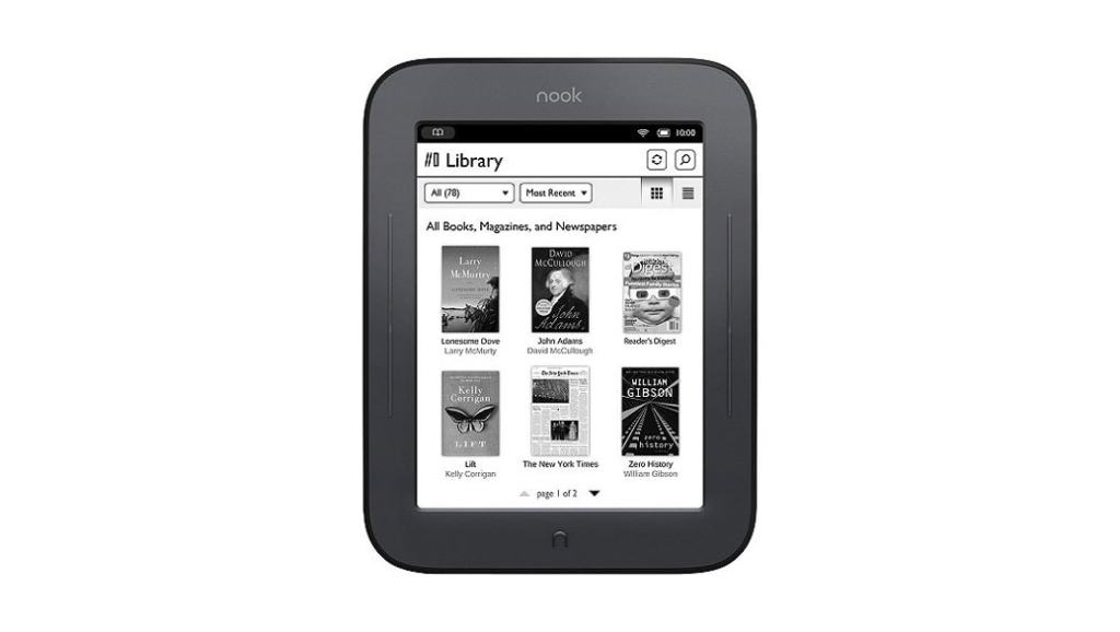 Dónde comprar un eBook NOOK Simple Touch en España