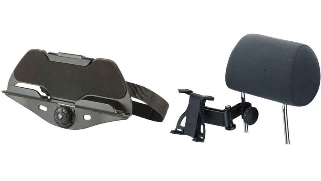 Comparativa soportes reposacabezas de coches para tablets: Targus vs iGrip