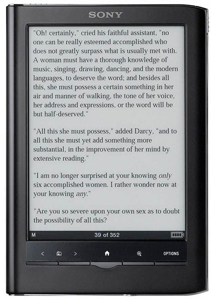 Sony PRS-650 Touch Edition ereader