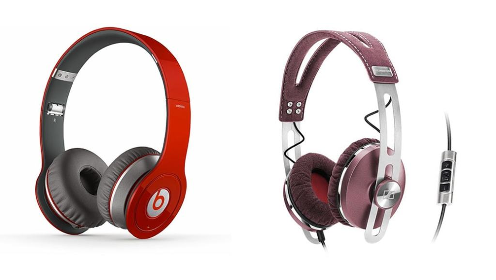 Los auriculares de moda en 2014: Beats by Dr. Dre Wireless vs Sennheiser Momentum ON-EAR