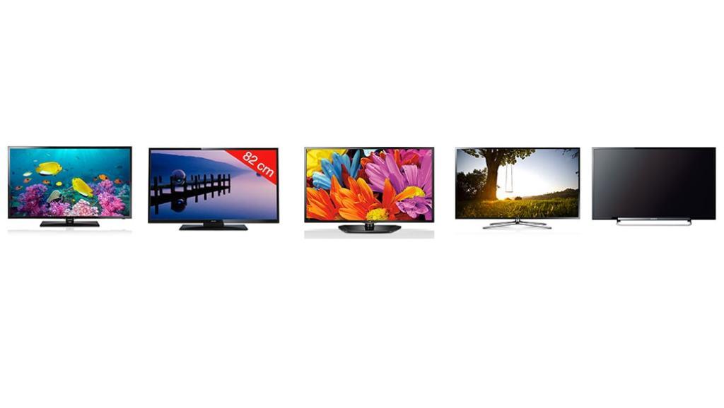Los 5 mejores televisores de 32″ del mundo