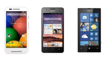 Motorola Moto E vs Huawei Ascend G525 vs Nokia Lumia 520: Comparativa smartphones