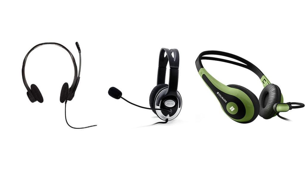 Auriculares con micrófono por menos de 10 euros: Logitech PC 860 vs CSL S-085 Pro HQ 960 vs Soyntec NETSOUND 500
