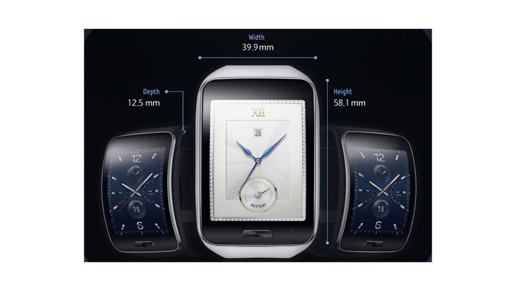 Samsung Gear S – Infografía con todas sus características