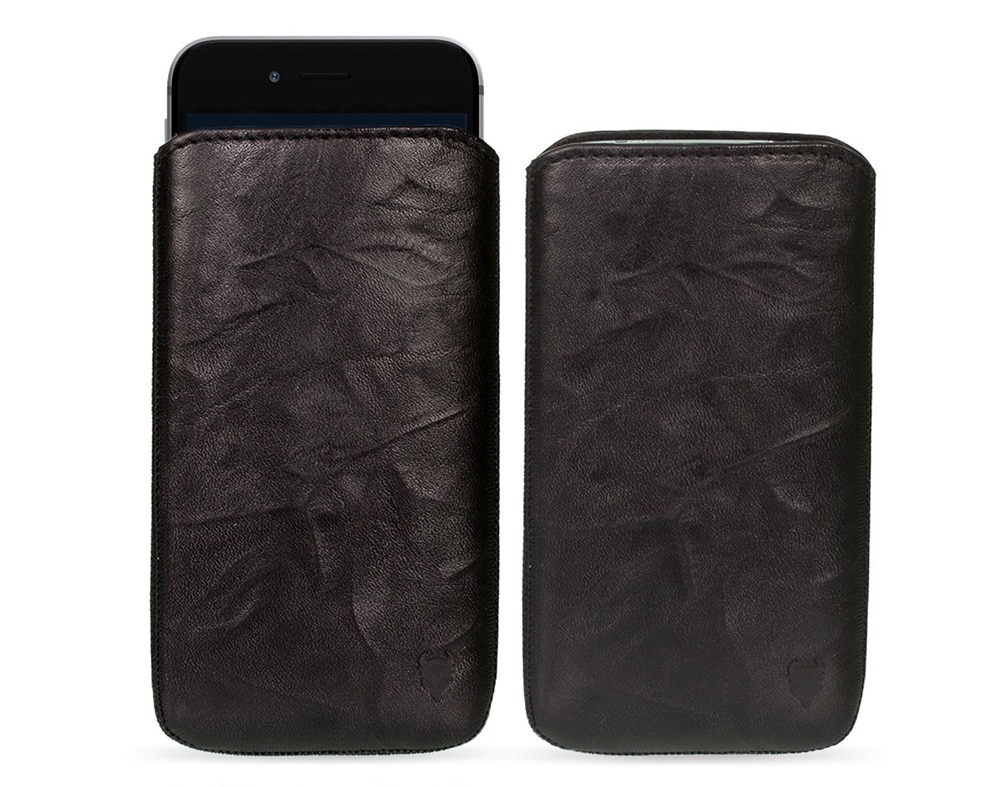 MediaDevil – Funda de Cuero Auténtico para Apple iPhone 6 – IPhone 6 Plus (19,97 euros)