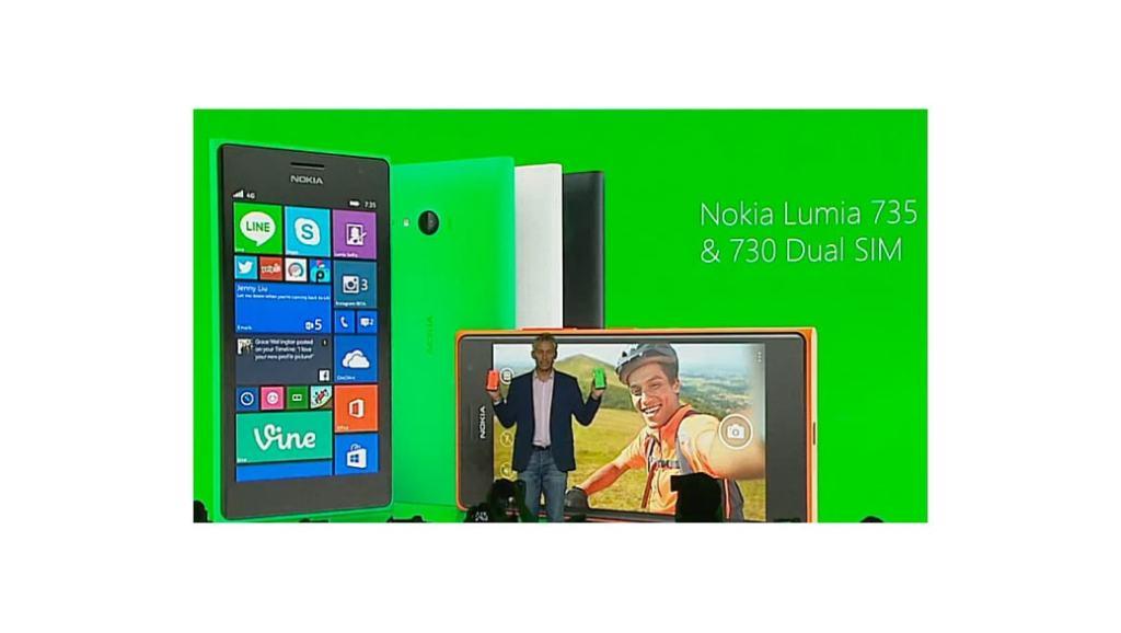 """Nokia Lumia 730 – El """"móvil selfie"""" se hace oficial"""