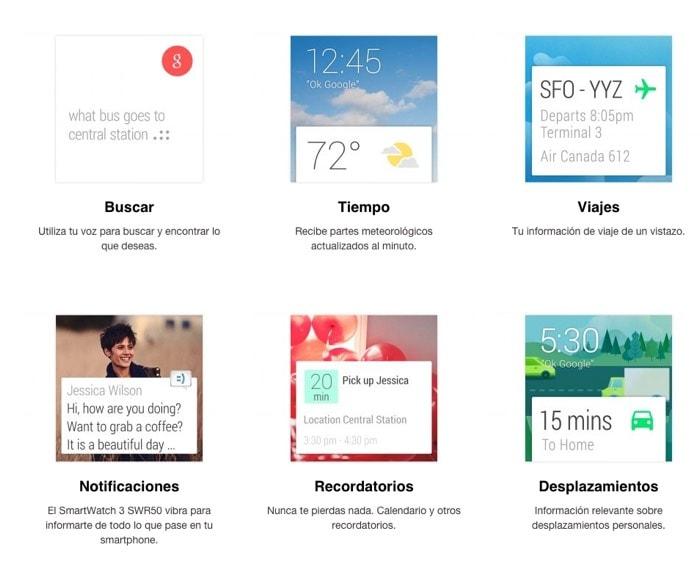 sony smartwatch 3 funciones