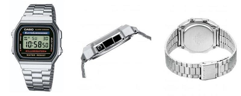 Reloj Casio A168W - Lo vintage vuelve a tu muñeca