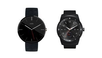 Moto 360 vs LG G Watch R: los mejores smartwatches redondos