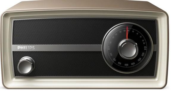 Philips OR2000M - Una Radio - Despertador de otra época más vintage
