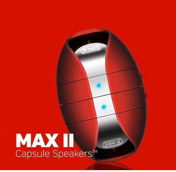 X-Mini Max II Capsule - Altavoz estereo portatil