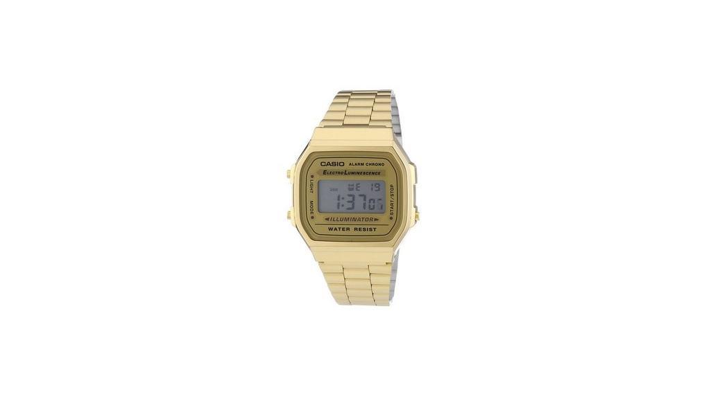 Reloj Casio Collection A168WG-9EF: El dorado más cool