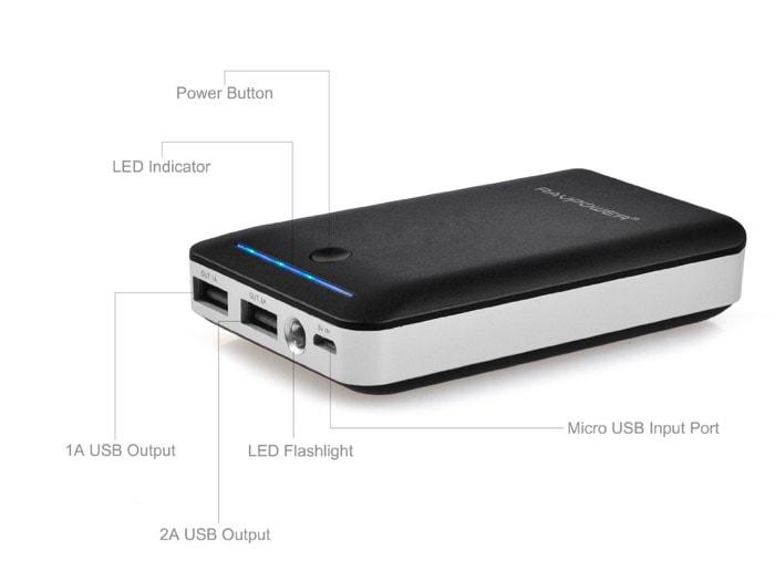 RAVPower bateria 14000mah