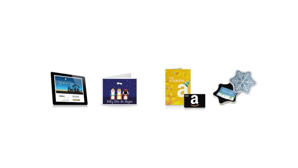 Tus regalos de último minuto: utiliza un cheque regalo de Amazon España
