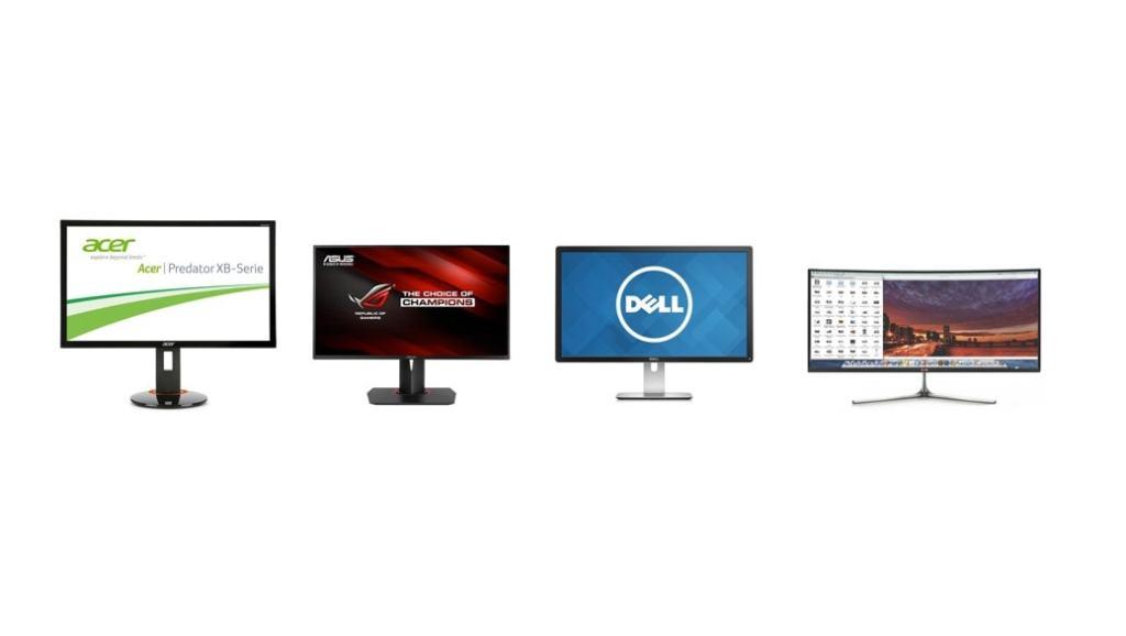Los 4 mejores monitores para gaming (2015): pantallas 4K imprescindibles para jugones