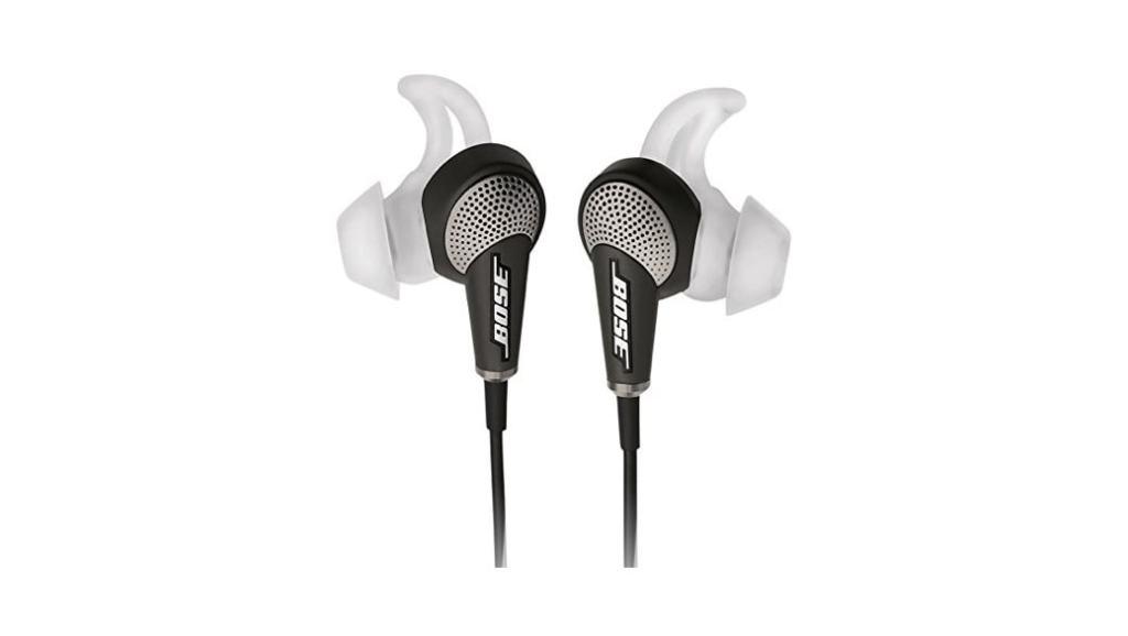 Los mejores auriculares in-ear con cancelación de ruido (2015): Bose QuietComfort 20i
