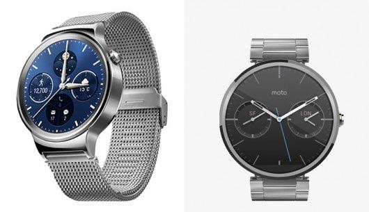 Huawei Watch vs. Moto 360 comparativa