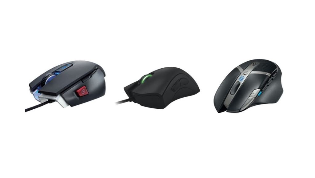 Los 3 mejores ratones para gaming (MMO, FPS, RTS)